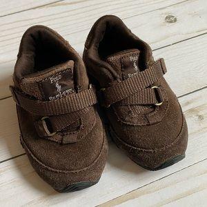 Toddler Ralph Lauren Brown Shoes